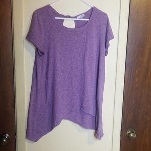 Nwot Sonoma purple womens tee
